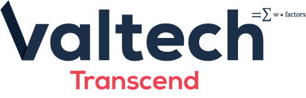 Valtech Transcend Chinese Site Logo
